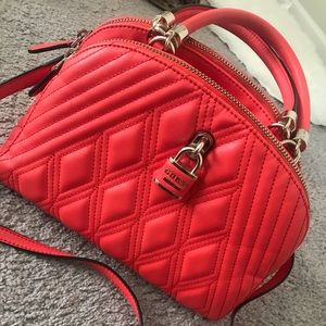 Hot red Guess purse